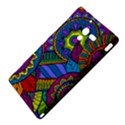 Pop Art Paisley Flowers Ornaments Multicolored Sony Xperia ZL (L35H) View4