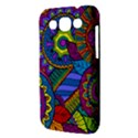 Pop Art Paisley Flowers Ornaments Multicolored Samsung Galaxy Win I8550 Hardshell Case  View3
