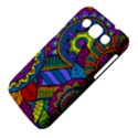 Pop Art Paisley Flowers Ornaments Multicolored Samsung Galaxy Win I8550 Hardshell Case  View4