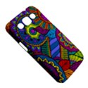 Pop Art Paisley Flowers Ornaments Multicolored Samsung Galaxy Win I8550 Hardshell Case  View5