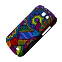 Pop Art Paisley Flowers Ornaments Multicolored Samsung Galaxy Express I8730 Hardshell Case  View4