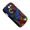 Pop Art Paisley Flowers Ornaments Multicolored Samsung Galaxy Express I8730 Hardshell Case  View5