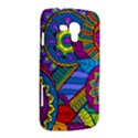 Pop Art Paisley Flowers Ornaments Multicolored Samsung Galaxy Duos I8262 Hardshell Case  View2