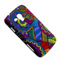 Pop Art Paisley Flowers Ornaments Multicolored Samsung Galaxy Duos I8262 Hardshell Case  View5