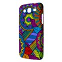Pop Art Paisley Flowers Ornaments Multicolored Samsung Galaxy Mega 5.8 I9152 Hardshell Case  View3
