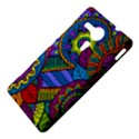 Pop Art Paisley Flowers Ornaments Multicolored Sony Xperia SP View4
