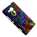 Pop Art Paisley Flowers Ornaments Multicolored Sony Xperia SP View5