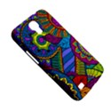 Pop Art Paisley Flowers Ornaments Multicolored Samsung Galaxy Mega 6.3  I9200 Hardshell Case View5