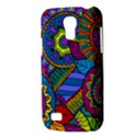 Pop Art Paisley Flowers Ornaments Multicolored Galaxy S4 Mini View3