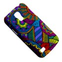 Pop Art Paisley Flowers Ornaments Multicolored Galaxy S4 Mini View5