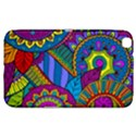 Pop Art Paisley Flowers Ornaments Multicolored Samsung Galaxy Tab 3 (8 ) T3100 Hardshell Case  View1