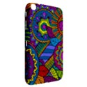 Pop Art Paisley Flowers Ornaments Multicolored Samsung Galaxy Tab 3 (8 ) T3100 Hardshell Case  View2