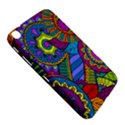 Pop Art Paisley Flowers Ornaments Multicolored Samsung Galaxy Tab 3 (8 ) T3100 Hardshell Case  View5