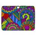 Pop Art Paisley Flowers Ornaments Multicolored Samsung Galaxy Tab 3 (10.1 ) P5200 Hardshell Case  View1