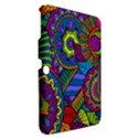 Pop Art Paisley Flowers Ornaments Multicolored Samsung Galaxy Tab 3 (10.1 ) P5200 Hardshell Case  View2