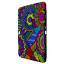 Pop Art Paisley Flowers Ornaments Multicolored Samsung Galaxy Tab 3 (10.1 ) P5200 Hardshell Case  View3