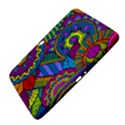 Pop Art Paisley Flowers Ornaments Multicolored Samsung Galaxy Tab 3 (10.1 ) P5200 Hardshell Case  View4