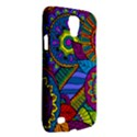 Pop Art Paisley Flowers Ornaments Multicolored Galaxy S4 Active View2