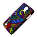 Pop Art Paisley Flowers Ornaments Multicolored Galaxy S4 Active View4