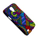 Pop Art Paisley Flowers Ornaments Multicolored Galaxy S4 Active View5