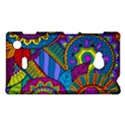 Pop Art Paisley Flowers Ornaments Multicolored Nokia Lumia 720 View1