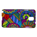 Pop Art Paisley Flowers Ornaments Multicolored Samsung Galaxy Note 3 N9005 Hardshell Case View1