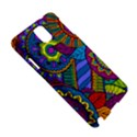 Pop Art Paisley Flowers Ornaments Multicolored Samsung Galaxy Note 3 N9005 Hardshell Case View5