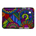 Pop Art Paisley Flowers Ornaments Multicolored Samsung Galaxy Tab 2 (7 ) P3100 Hardshell Case  View1