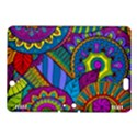 Pop Art Paisley Flowers Ornaments Multicolored Kindle Fire HDX 8.9  Hardshell Case View1