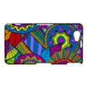 Pop Art Paisley Flowers Ornaments Multicolored Sony Xperia Z1 Compact View1