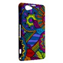Pop Art Paisley Flowers Ornaments Multicolored Sony Xperia Z1 Compact View2