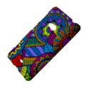 Pop Art Paisley Flowers Ornaments Multicolored Nokia Lumia 625 View4