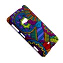 Pop Art Paisley Flowers Ornaments Multicolored Nokia Lumia 625 View5