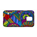 Pop Art Paisley Flowers Ornaments Multicolored Samsung Galaxy S5 Hardshell Case  View1