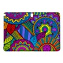 Pop Art Paisley Flowers Ornaments Multicolored Samsung Galaxy Tab Pro 10.1 Hardshell Case View1