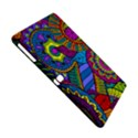 Pop Art Paisley Flowers Ornaments Multicolored Samsung Galaxy Tab Pro 10.1 Hardshell Case View4
