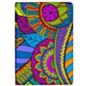 Pop Art Paisley Flowers Ornaments Multicolored iPad Air Flip View1