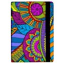 Pop Art Paisley Flowers Ornaments Multicolored iPad Air Flip View2