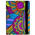 Pop Art Paisley Flowers Ornaments Multicolored iPad Air Flip View2