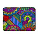 Pop Art Paisley Flowers Ornaments Multicolored Amazon Kindle Fire (2012) Hardshell Case View1