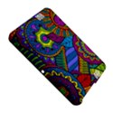 Pop Art Paisley Flowers Ornaments Multicolored Amazon Kindle Fire (2012) Hardshell Case View5