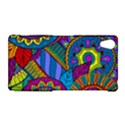 Pop Art Paisley Flowers Ornaments Multicolored Sony Xperia Z2 View1
