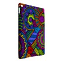 Pop Art Paisley Flowers Ornaments Multicolored iPad Air 2 Hardshell Cases View2