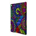 Pop Art Paisley Flowers Ornaments Multicolored iPad Air 2 Hardshell Cases View3