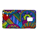 Pop Art Paisley Flowers Ornaments Multicolored Galaxy Note Edge View1