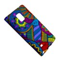 Pop Art Paisley Flowers Ornaments Multicolored Galaxy Note Edge View5