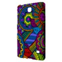 Pop Art Paisley Flowers Ornaments Multicolored Samsung Galaxy Tab 4 (7 ) Hardshell Case  View2