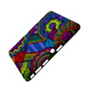 Pop Art Paisley Flowers Ornaments Multicolored Samsung Galaxy Tab 4 (10.1 ) Hardshell Case  View4