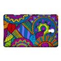 Pop Art Paisley Flowers Ornaments Multicolored Samsung Galaxy Tab S (8.4 ) Hardshell Case  View1