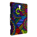 Pop Art Paisley Flowers Ornaments Multicolored Samsung Galaxy Tab S (8.4 ) Hardshell Case  View3
